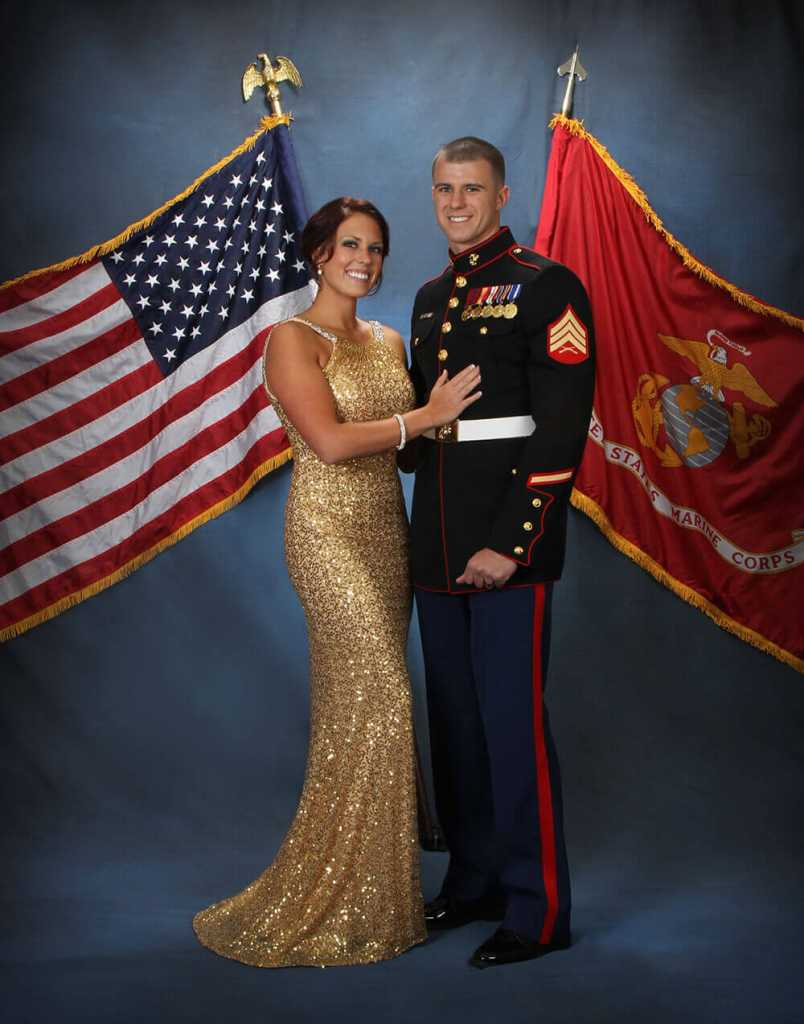 Marine Ball Portraits Jim Harris Photography