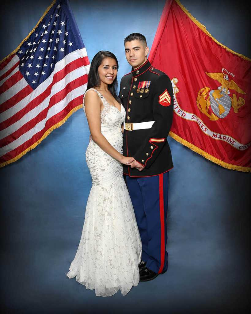 Marine Military Ball Gowns - Plus Size Dresses